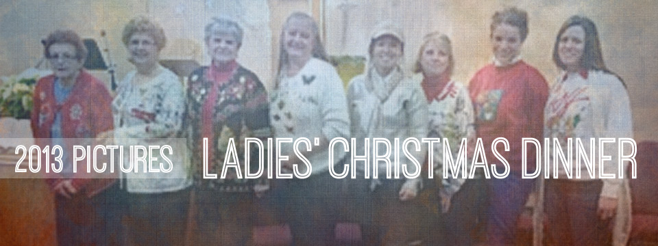 2013 Ladies' Christmas Event