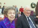 70'th wedding anniversary, J.Q. and Carolyn Hunter