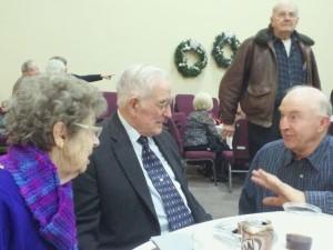 70'th wedding anniversary, J.Q. and Carolyn Hunter